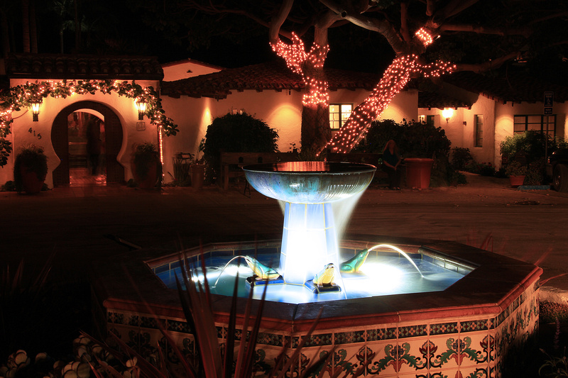 Casa Romantica at Night