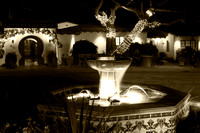Casa Romantica at Night